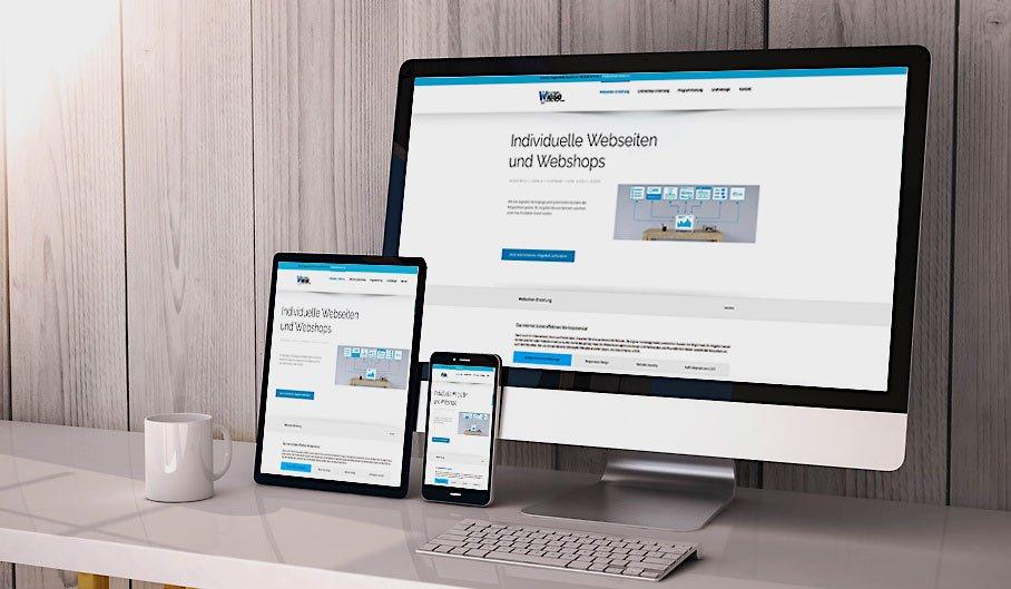 responsive Webseite erstellen von Webteam Wiese