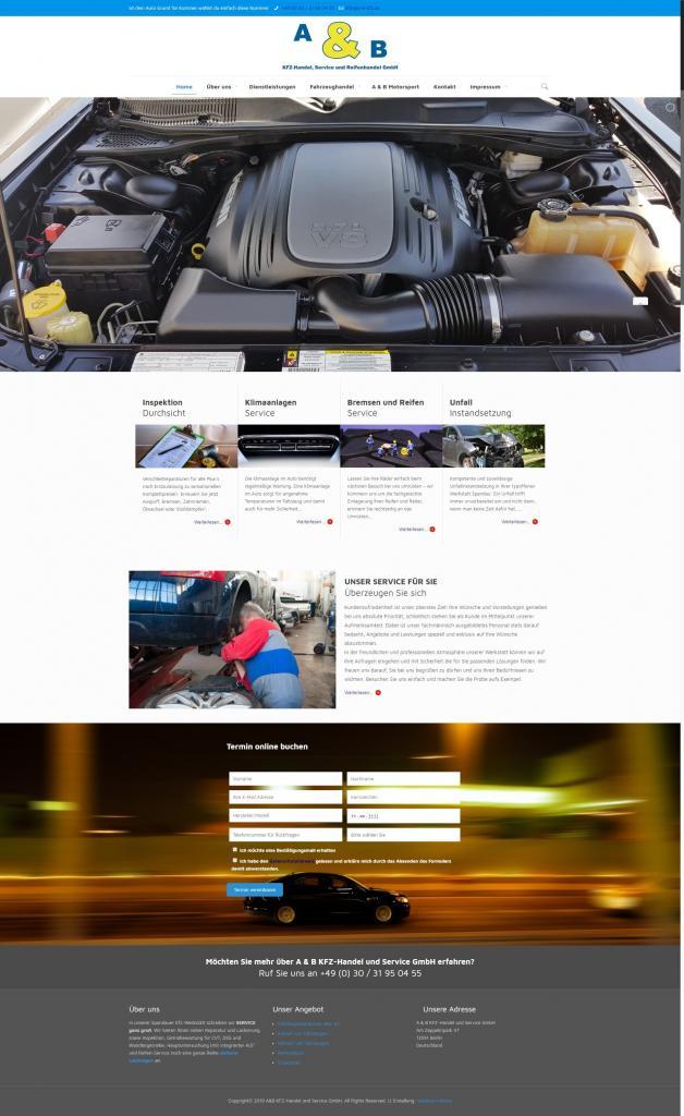 Startseite A & B KFZ-Handel und Service GmbH