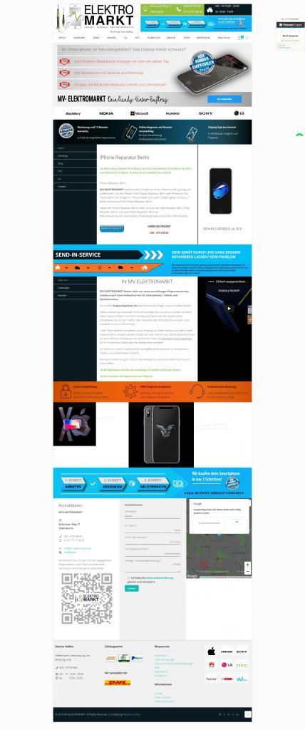 MV-ELEKTROMARKT – Dein HandyUnserAuftrag