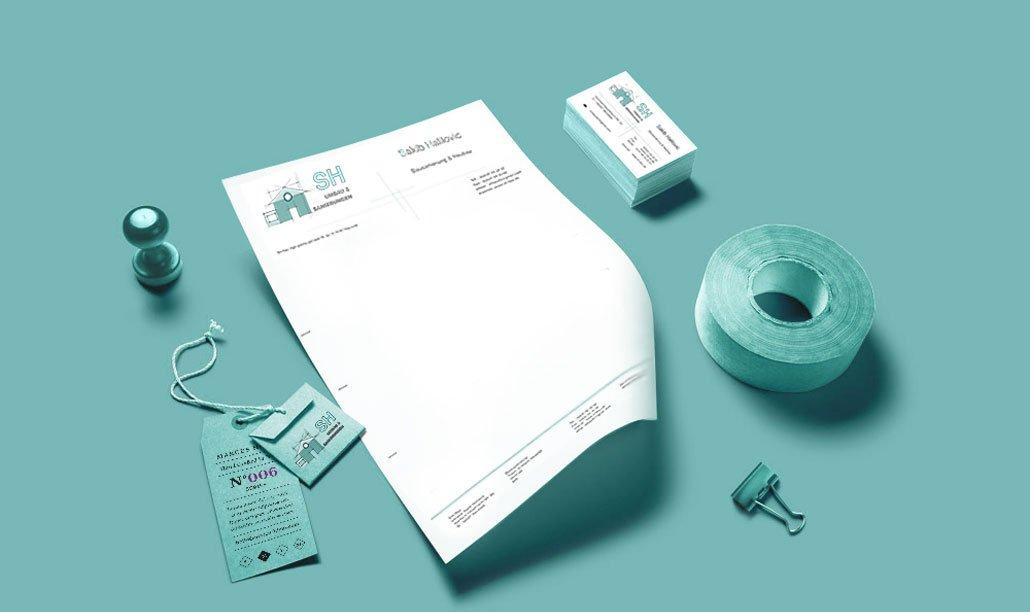 Printmedien im Corporate Design