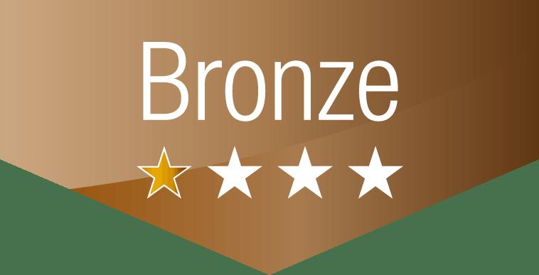 bronze Paket 1 Stern von 4